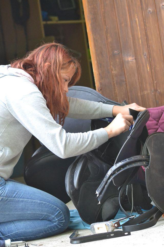 Allison Imbert - saddle fitting