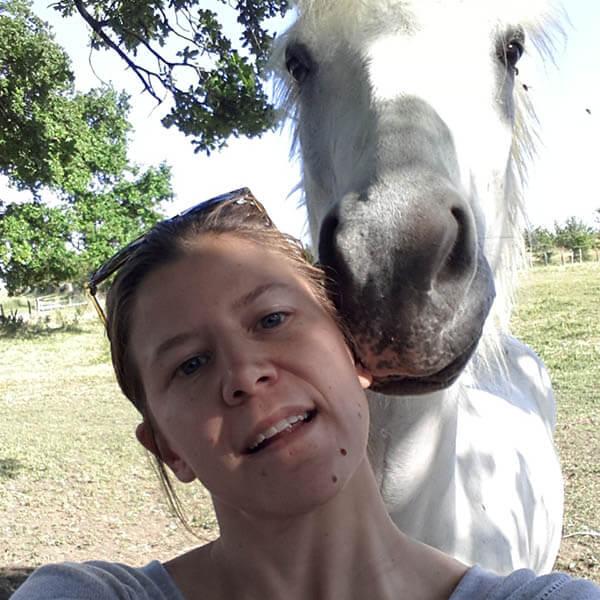 Photo de Marie, la créatrice de Horse&Ropes